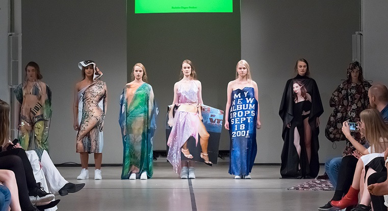 The Swedish School Of Textiles At London Fashion Week University Of Boras